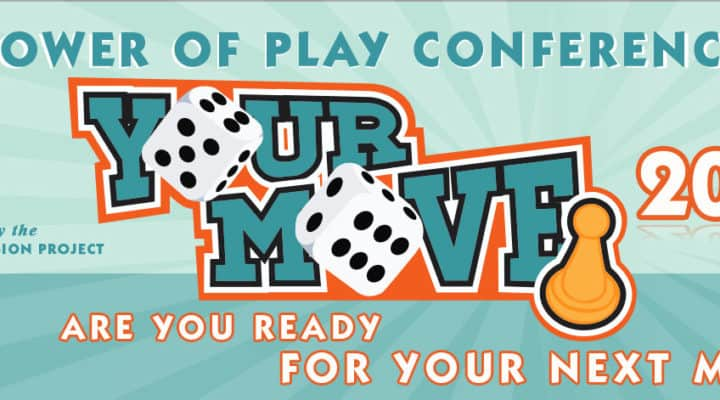 Power Of Play Conference 2018 Banner